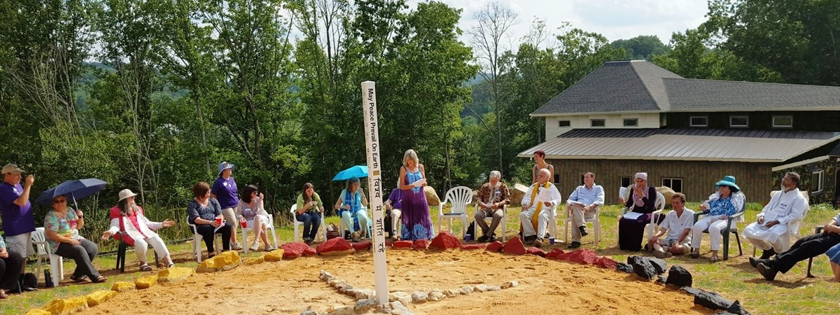 Pic 2 - Medicine Wheel Peace Ceremony