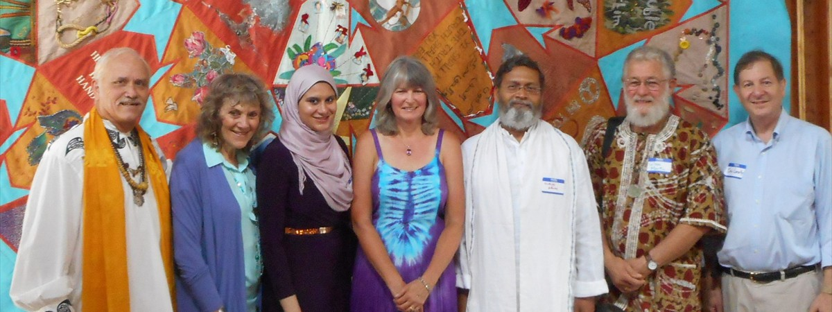 Pic 4 - Peace Quilt Interfaith speakers